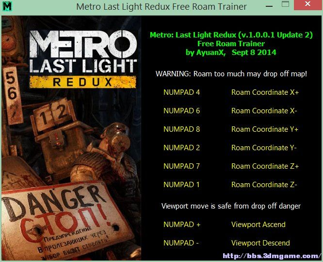 Скачать Трейнер На Metro Last Light Redux - фото 11