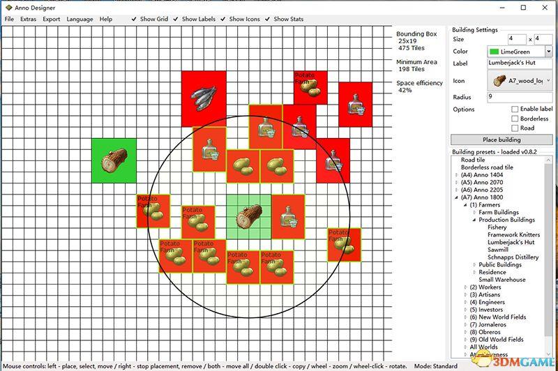 《纪元1800》 城市布局+生产布局+产业链详解+布局工具用法