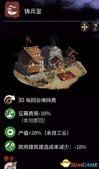 《全面战争:三国》全建筑一览 全建筑功能详解图鉴
