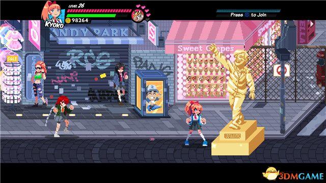 《热血少女物语》 全关卡流程全Boss战 全石像收集及角色技能详解