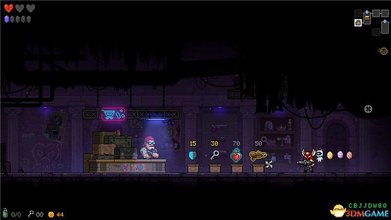 《霓虹深渊》全关卡过关要点全boss打法  全角色武器道具全房间敌人详解