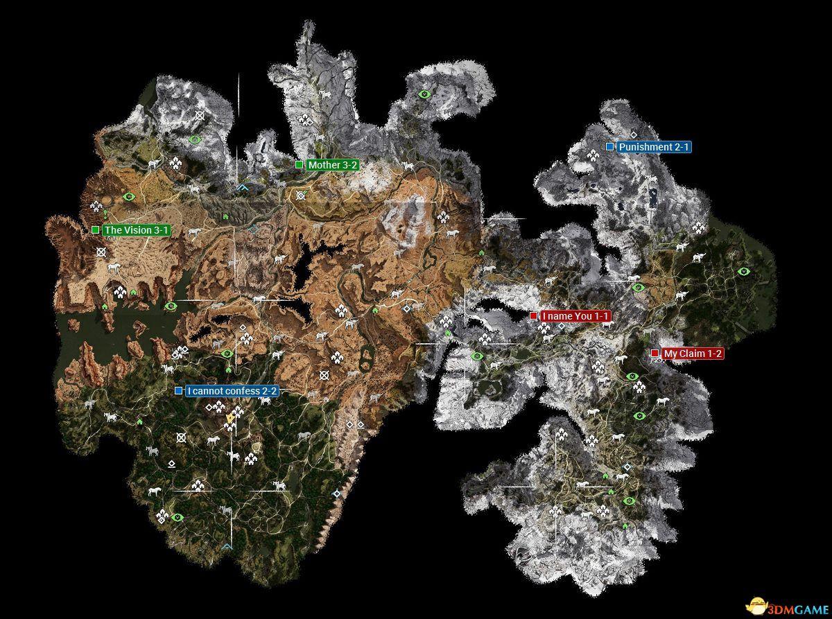 《地平线:黎明时分》全收集图文攻略 冰尘雪野DLC全收集攻略
