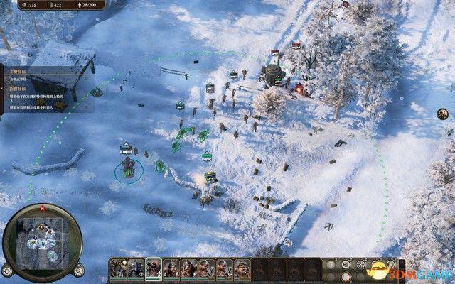 《钢铁收割》全战役流程图文攻略 萨克森战役过关技巧