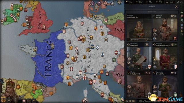 《十字军之王3》玩法技巧进阶攻略 内阁宣战密谋压力特质等关键词详解