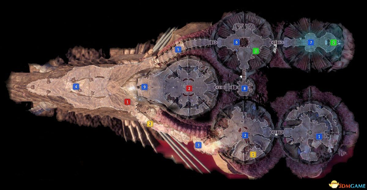 《博德之门3》全地图攻略 任务地图隐秘地点NPC位置