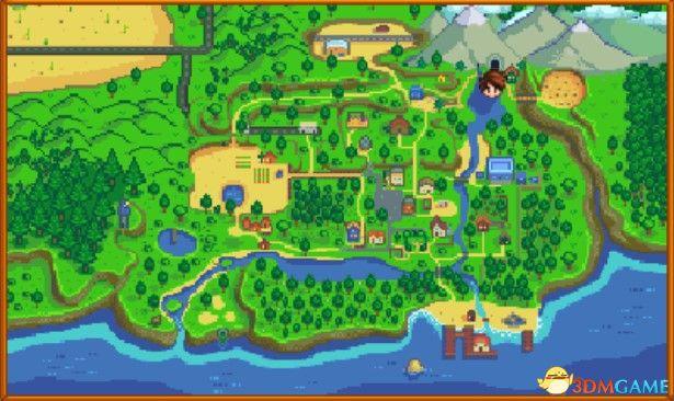 《星露谷物语》图文百科攻略 全地图标注全农场详情全剧情任务全NPC喜好