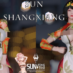 Christine] Sun Shangxiang Outfit(孙尚香服装)