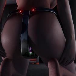 珍炒带练习动态套装~Chastity Sex trainner(Animated) LE