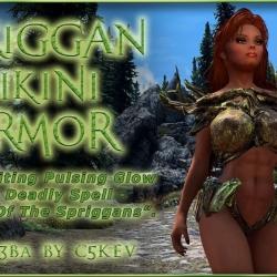 [SE] C5Kev's Spriggan Bikini Armor 3BA V2 树精比基尼
