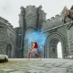 【Team Rapier Of 3DM】刀锋卫士大宗师之剑,剑气对敌人伤害吹飞,对中立npc和主角加血,一剑两用,阴阳调和的武士刀