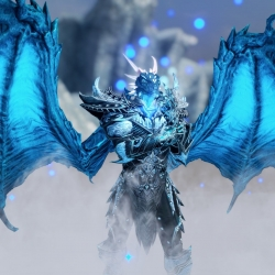 Blue Frost Daedric set 蓝霜魔神套装