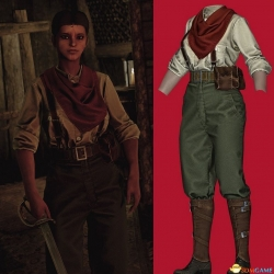 Bioshock Infinite Fitzroy Outfit [UNP]