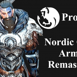 Project 7 - Nordic Carved Armor Remastered 诺德风盔甲